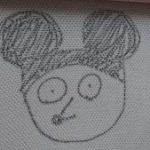 私が描いたミッキーマウス