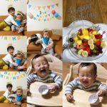 次男1歳のお誕生日
